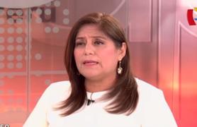"""Delia Muñoz: """"Contraloría sí tiene campo de acción para atender denuncia de Vilcatoma"""""""