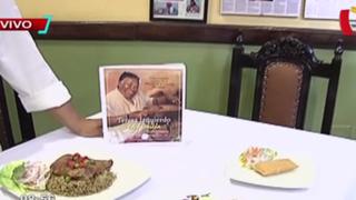 Lanzan libro con mejores recetas de cocina de fallecida chef Teresa Izquierdo