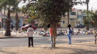 Usuario de twitter denuncia que muchas partes de Comas están inundadas de basura