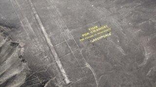 Líneas de Nazca: Greenpeace pide disculpas por protesta