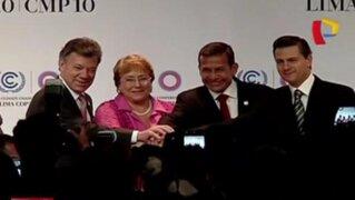 Presidentes de la Alianza del Pacífico firmaron acuerdo en la COP20