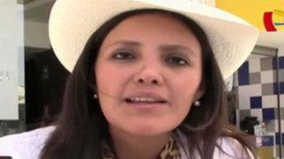 """Yamila Osorio: """"Vamos a hacer que cada sol de los arequipeños sea bien invertido"""""""