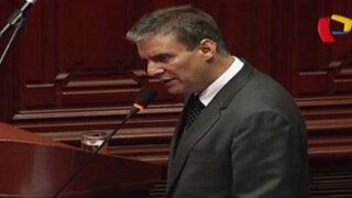Interpelación de Figallo generó acalorado debate en Pleno del Congreso