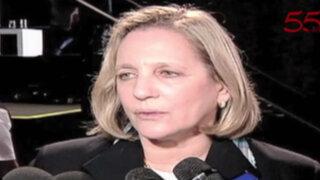 Ministra de Cultura califica como delito atentado de Greenpeace a líneas de Nazca