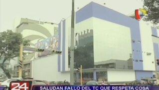 Saludan fallo del TC que respeta cosa juzgada a favor de Panamericana TV