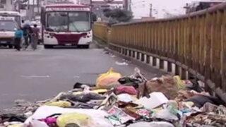 Minsa declara alerta sanitaria en Comas, Rímac, SJM y VMT por basura sin recoger