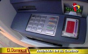 Amenaza en el cajero: ¿cómo operan los delincuentes en los cajeros automáticos?