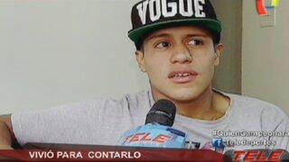 Joao Contreras: ''Me siento con muchas ganas de regresar a jugar el fútbol''