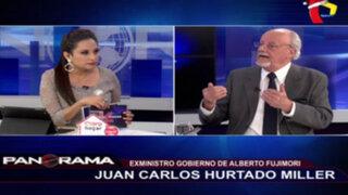 Ex ministro Juan Carlos Hurtado Miller denuncia despojo de su vivienda
