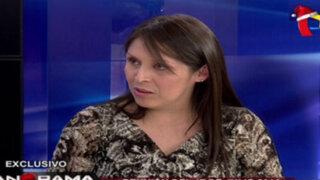 Yeni Vilcatoma denuncia intromisión de ministro Figallo a favor de Odebrecht