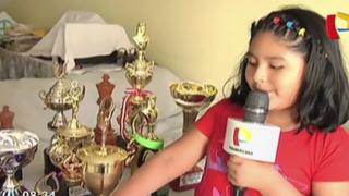 Familiares solicitan apoyo para niña de 7 años campeona mundial de ajedrez