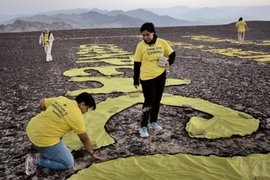 Greenpeace no brindó nombres de activistas que dañaron Líneas de Nasca