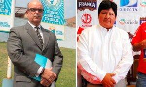 Federico Cúneo y Edwin Oviedo, los candidatos a la presidencia de la FPF