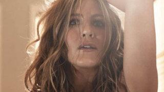 FOTOS: actriz Jennifer Aniston hizo topless para la revista Allure