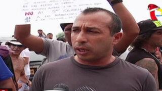 Miraflores: tablistas acampan en playa La Pampilla en protesta por obras