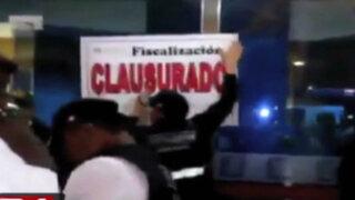 Municipio de San Isidro clausura facultad de Derecho de universidad Garcilaso