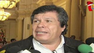 Heriberto Benítez preocupado por levantamiento de su inmunidad