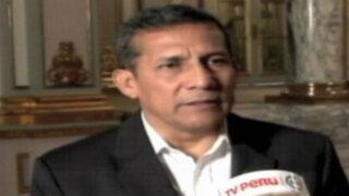 Presidente Humala saluda elección de Edwin Oviedo como presidente de la FPF