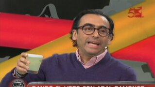 La inolvidable visita de Adal Ramones al set de Enemigos Públicos