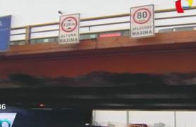 Rímac: puente Huánuco podría colapsar debido a deteriorada estructura