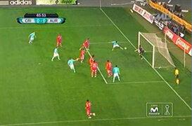 Sporting Cristal vs. Juan Aurich: mira los tres tapadones de Erick Delgado