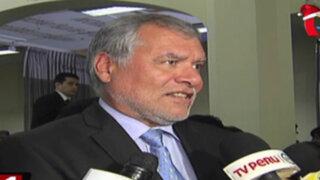 Ex procurador José Ugaz pide a Fiscal de la Nación apartarse de caso La Centralita