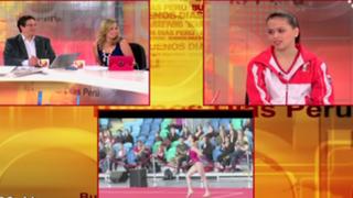 Gimnasta Ariana Orrego se prepara para clasificar a Olimpiadas Río 2016