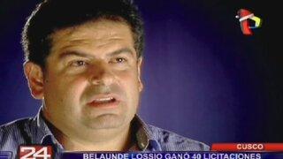 Belaúnde Lossio ganó 40 licitaciones, cobró dinero y abandonó obras en Cusco