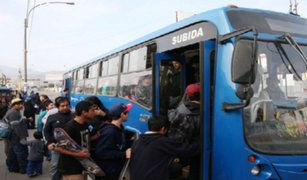 Cancelan licitación de cobro de pasajes electrónicos en corredores viales
