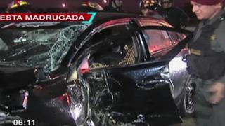 SMP: al menos cinco personas resultan gravemente heridas tras aparatoso choque