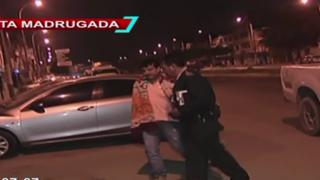 Los Olivos: detienen a sujeto que habría intentado matar a su esposa con un arma