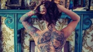 FOTOS: estas son las mujeres tatuadas más sensuales de las redes sociales