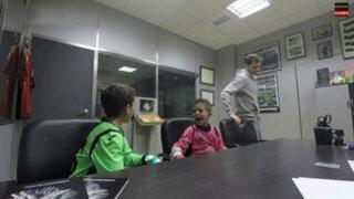 VIDEO: Iker Casillas sorprende a niños con cámara oculta