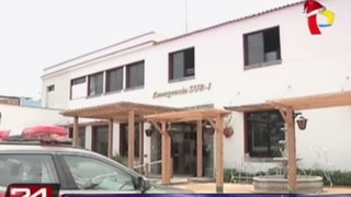 Ordenan desalojo de comisaría de local que sería de Banco de la Nación