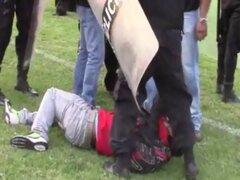 VIDEO: nuevas imágenes de la cobarde agresión sufrida por periodistas en Trujillo
