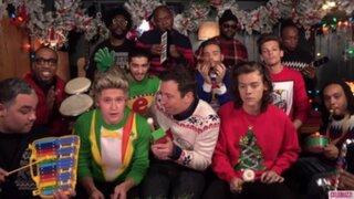 One Direction, Miley Cyrus y Selena Gomez se preparan para recibir la Navidad