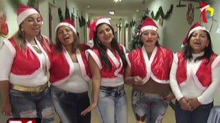Chorrillos: internas del Penal de Mujeres celebran Navidad por adelantado