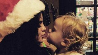 FOTOS: mira cómo saludan los famosos a sus seguidores por Navidad
