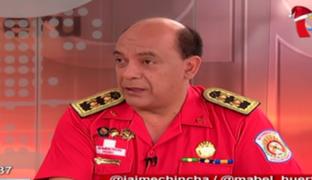 """Mario Casaretto: """"Esta Navidad se registró 20% más de incendios que el año pasado"""""""