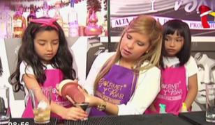 Taller de minibartenders: niños preparan novedosas bebidas sin licor
