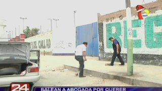 Abogada del Poder Judicial fue baleada por desconocidos en el Callao