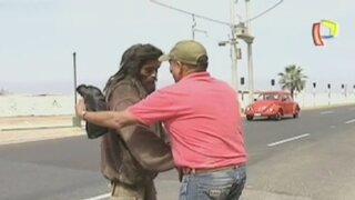 Reynaldo: El indigente que se reencontró con sus padres tras 20 años