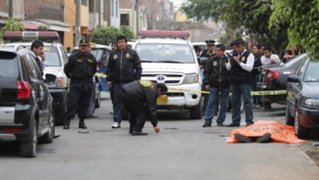 Policía muere asesinado a balazos por delincuente en Villa El Salvador