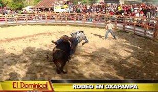 Rodeo en Oxapampa: tradición norteamericana llegó al Perú con curioso torneo