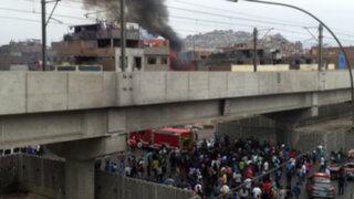 La Victoria: dos menores murieron en incendio registrado en 'La Cachina'