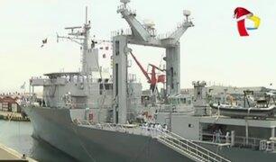 Marina de Guerra incorpora buque 'Tacna' a su servicio