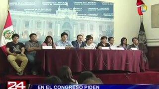 En el Congreso piden derogar nuevo régimen laboral juvenil