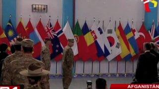 Fuerzas de la Otan se retiran tras culminar su misión de combate en Afganistán