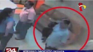 Santa Beatriz: balacera en hotel fue provocada por un huésped drogado