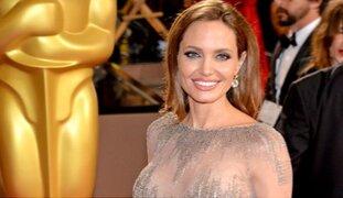 EEUU: publican fotos inéditas de la actriz Angelina Jolie al desnudo